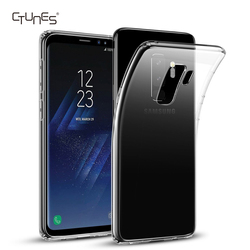 CTUNES Soft TPU Crystal Clear Transparent Slim Anti Slip Phone Case Back Shockproof Cover For Samsung Galaxy S9 5.8''