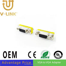 High speed VGA to VGA adapter scart double adapter for Blu-Ray players