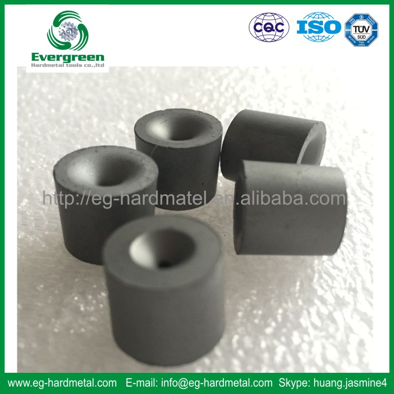 Tungsten carbide drawing die nibs for drawing