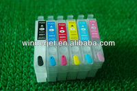 Compatible/Refillable ink cartridge for Epson Artisan T60 empty ink cartridge