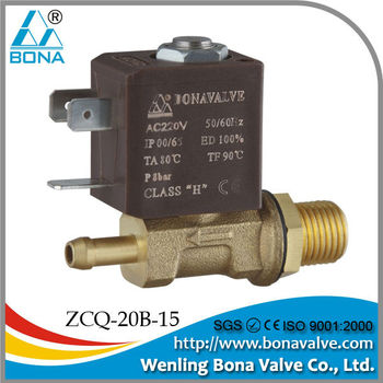 male 1/4*6.5mm Co2 Argon Arc Mig Tig Automatic welding machine solenoid valve