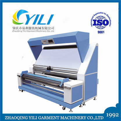 multi function all fabric cloth auto edge fabric inspection rolling and counting machine
