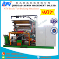 ATV Beach Tyre Automatic Spring Turn-up Building and Shaping Machine