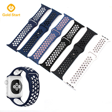 Hot Products Smart Silicone Watch Band for 38mm 42mm Apple Watch Band Strap