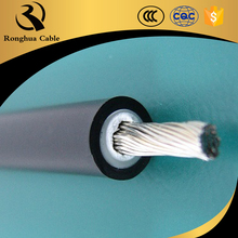 Tinned Copper Conductor cross-linked polyolefin insulated and sheathed 4mm2 6mm2 DC solar Cables