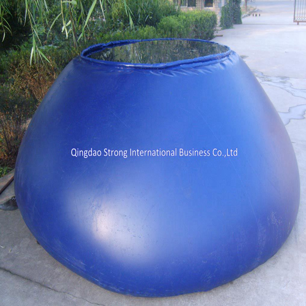 onion shaped PVC water tank for fish breeding