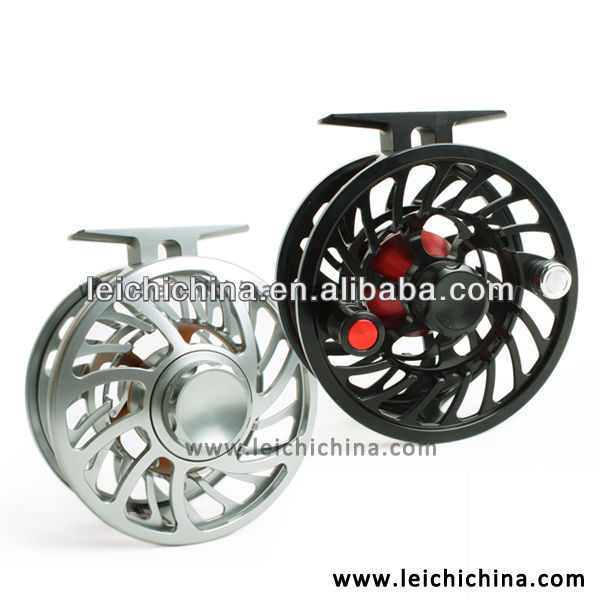 Top quality large line capability 100% waterproof cork drag saltwater fly reel