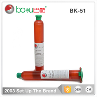 BAKU Super UV Curing Light Adhesive Liquid Repair Glue For LCD Touch Screen BK 51 Repairing Plastic Glass Smart Phone