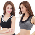 Ladies sexy seamless fitness yoga sport bra