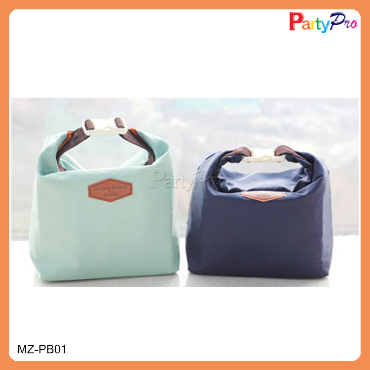 2014 Women's Food Packaging Nylon Foldable Bag Wholesale Lunch Bag