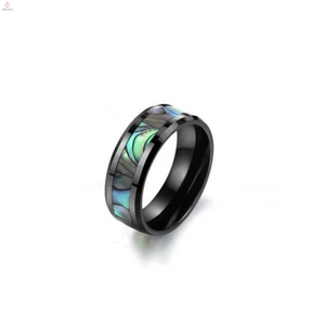 Shiny Polished Colorful Hot Sale Comfort Fit High Quality Black Ceramic Ring