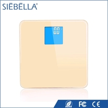 2017 Siebella new arrival silicone foot pad medical weighing scale