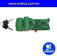 stable quality anti-drill motorcycle lock set