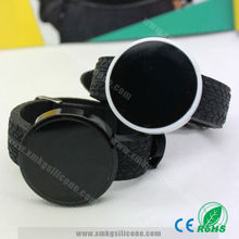 Wholesale Black Silicon Led Waterproof Digital Wrist Watch For Men