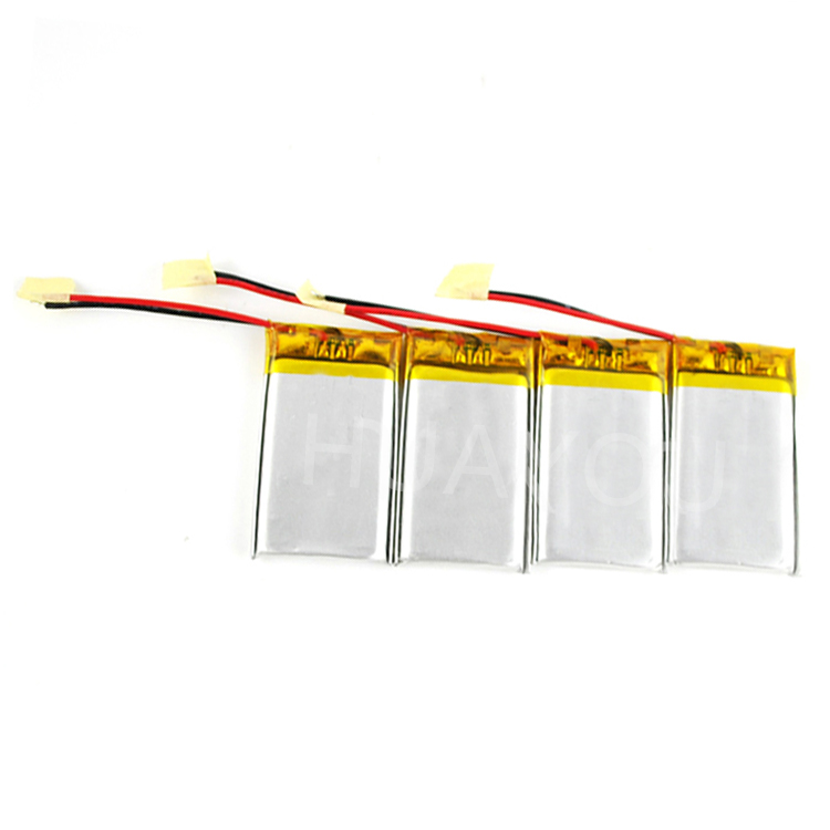 Rechargable Small 3.7v Lithium Polymer 042030 Battery 200mah