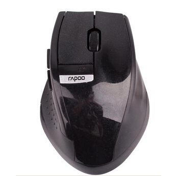 New 2.4GHz Rapoo 3200 Ergonomic USB Wireless Laser PC Mouse Optical Mini Adapter bluetooth