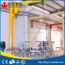 mobile jib crane and small jib crane 800kg
