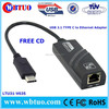 USB3.1 Type C rj45 gigabit ethernet Converter
