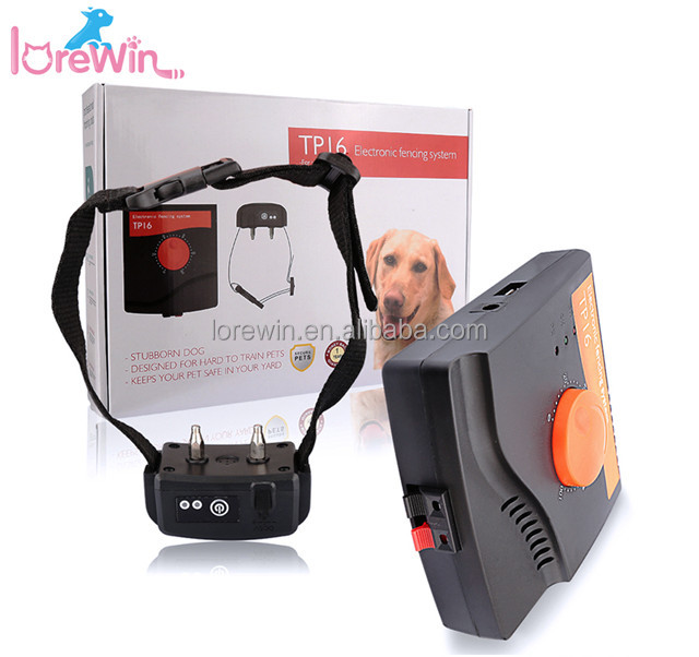 LoreWin TP16 Amazon Good Electric Fence Wireless Dog Fence beautiful wireless For Pet Containment System