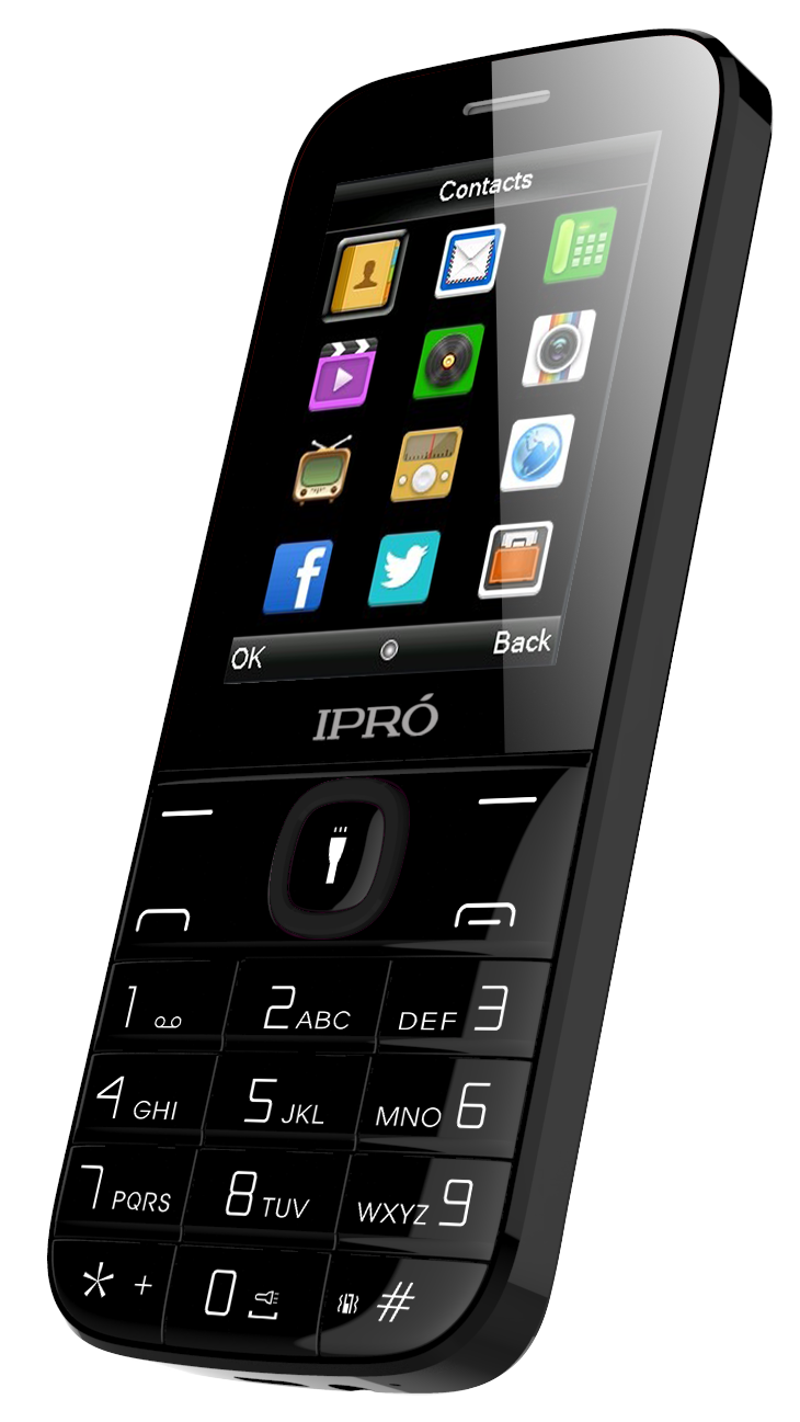 Low price professional ipro i324F 2.4 inch 2G best loudspeaker mobile phone multicolors