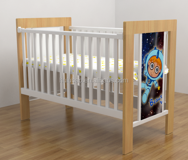Wooden Baby Cribs Baby Bed Baby Used daycare Furniture 2015