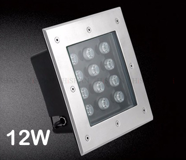 New product 2017 ip67 outdoor square led underground light