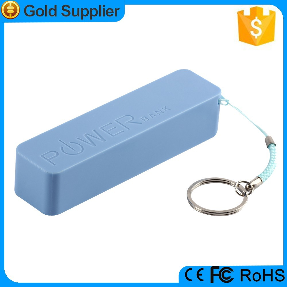 cheapest price keychain candy color 2200mah power bank perfume
