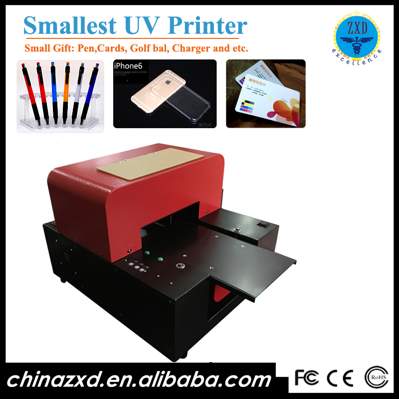 AP-A4UV-6C A4 Size UV Metal Photo Printer With 6 Color