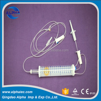 disposable 150ml burette iv infusion set for pediatric using
