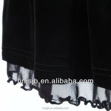 Korea black Malaki Abaya Fabric yellow velvet fabric dress fabric pleated
