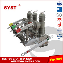 Vacuum 3 Phase Circuit Breaker Model 50Hz Outdoor use for Power System 12kv Substation