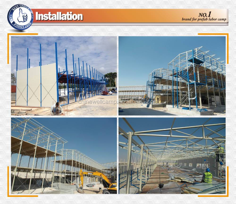 Malaysia project low cost k type prefab house for Prefab building costs