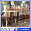 Factory price oil re-refining plant / mustard oil refining machine / edible oil refining machine