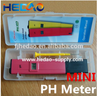 Super high quality ph and chlorine tester most popular digital urine ph meter