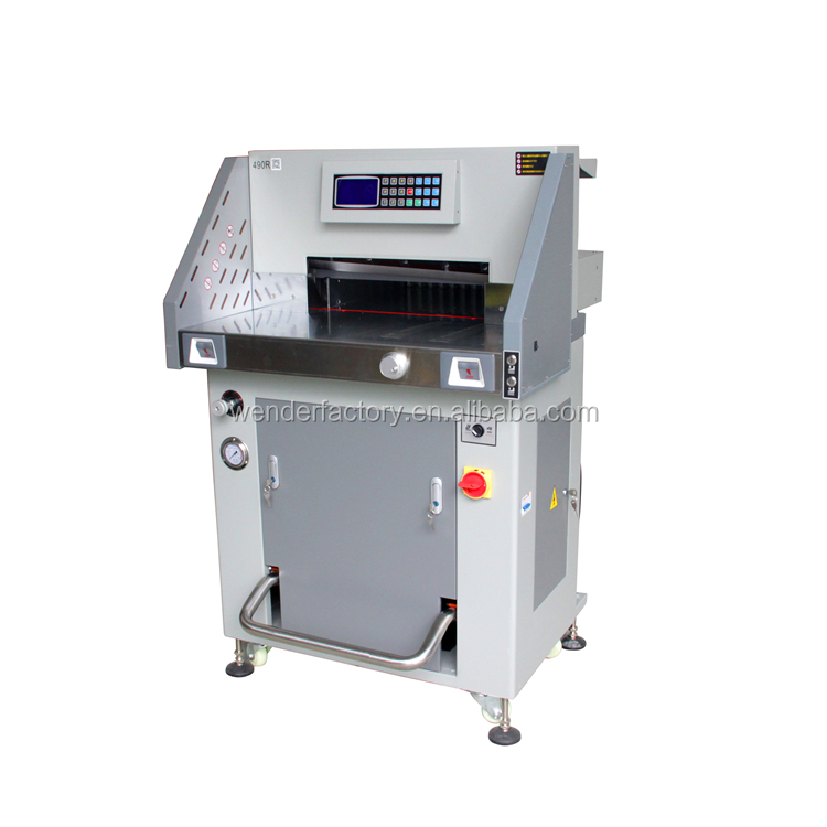 our company want distributor paper roll to sheet cutter a4 size paper cutting machine hot stamping gold foil paper cutter