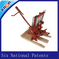 ANON farmer use six national patents rice paddy transplanter