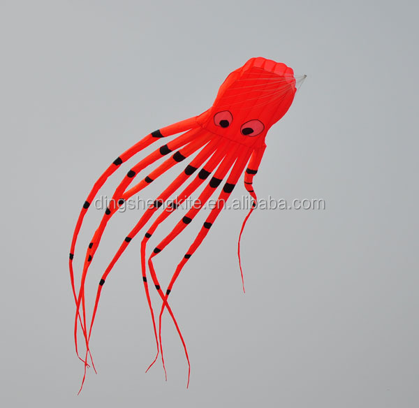 8m Large kite soft kite inflatable octopus kite for sale