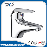 2016 chinese supplier pupular single lever brass mono basin faucet tap