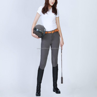 Half leather equestiran breeches/jodhpur for both men and women