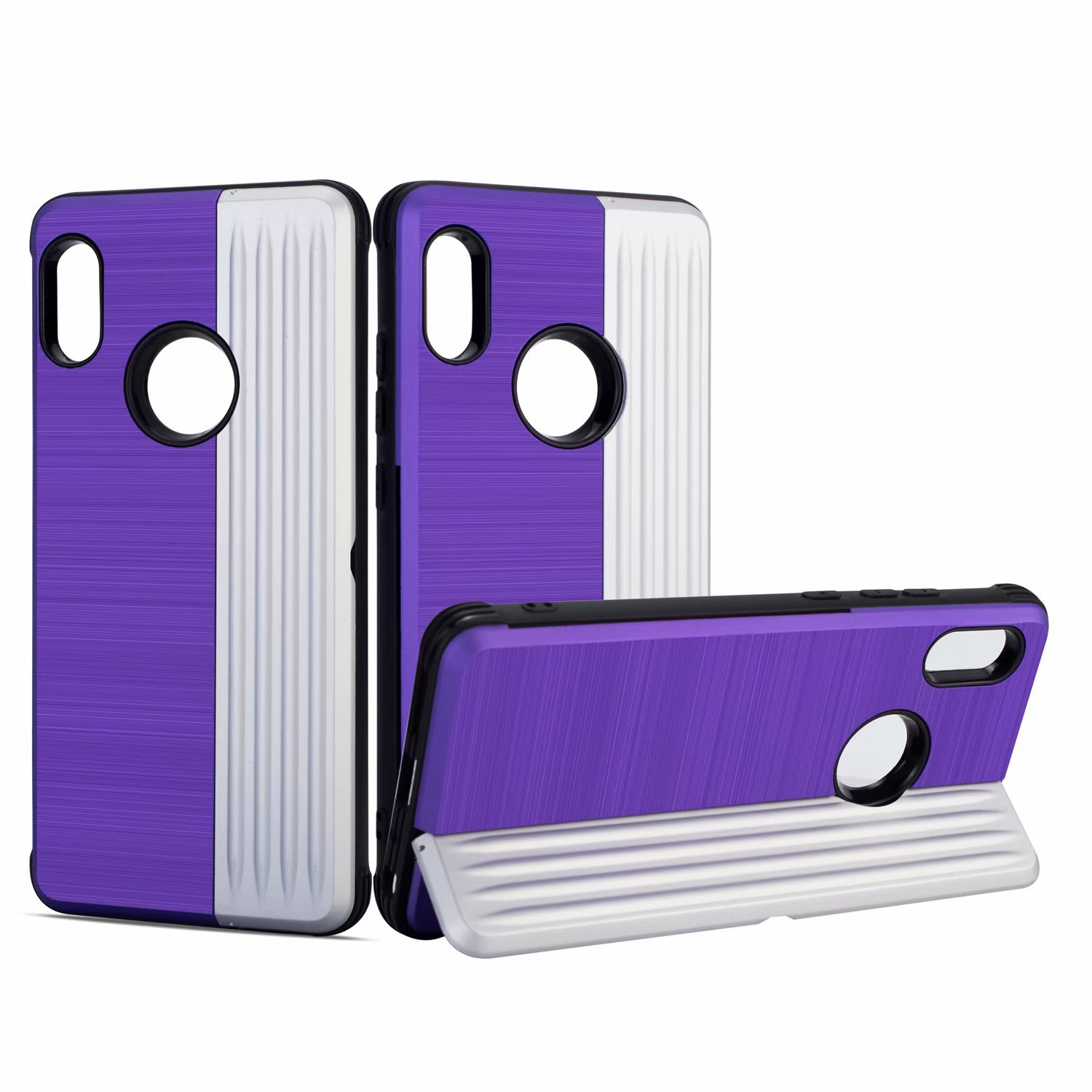 Shockproof TPU PC Card Slot Cell Phone Case Cover for Xiaomi Redmi 5