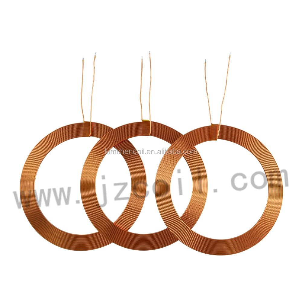free sample 32.5UH air inductor coil toy coil electric copper induction heating coil