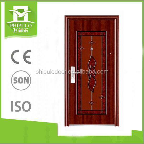 Exterior cheap customized steel door