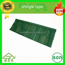china made building material Stone coated steel roofing tile