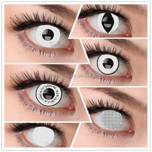 wholesale hollywood yearly used white series crazy soft contact lens