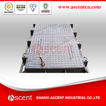 Ductile Iron Manhole Cover & Grating EN124