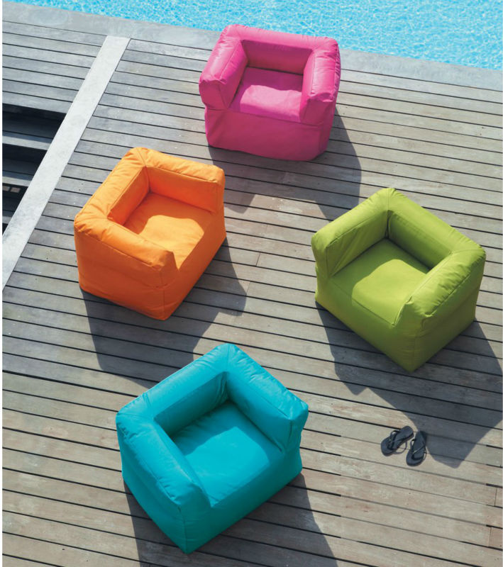new arrival luxury style outdoor beach bean bag,beach sofa