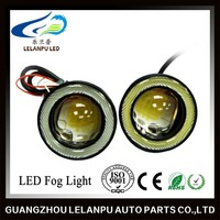 Wholesale super bright auto led fog lamp 3 inch led car Angel Eyes
