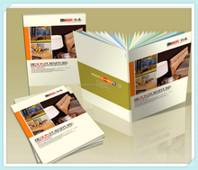 High quality catalog printing perfect binding catalogue printing