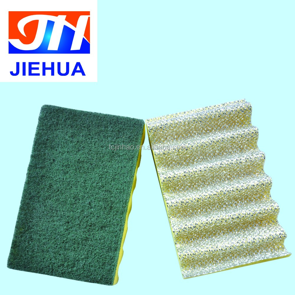 Foam material made sponge scourer pad for kitchen use