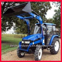 Economic 50Hp 4WD Farm Tractors with Front end loader